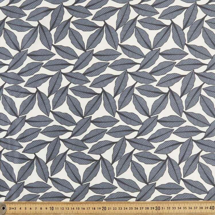 Jocelyn Proust Flock Leaf Cotton Satin