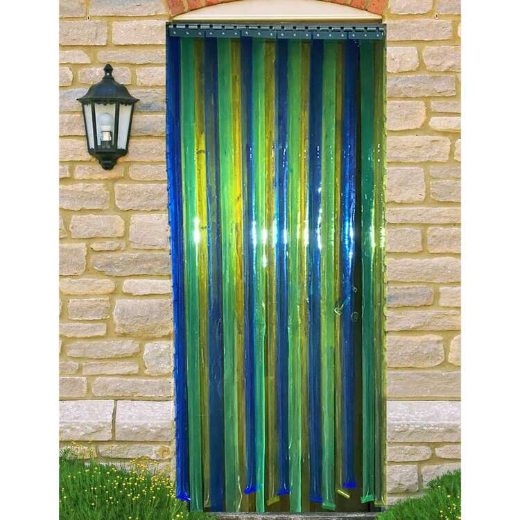 Windowshade PVC Multicoloured Strip Curtain
