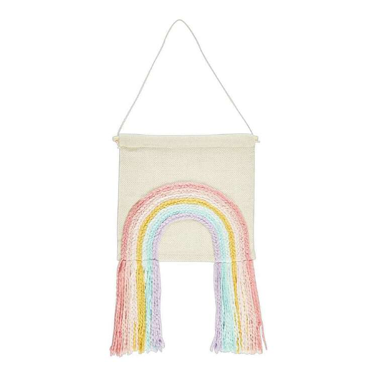 Kids House Rainbow Wall Hanging