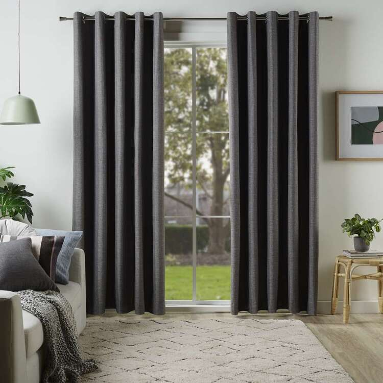KOO Linear Blockout Eyelet Curtains