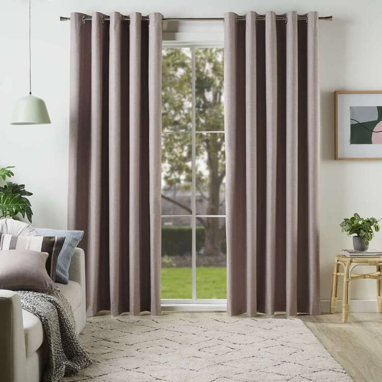 KOO Linear Blockout Eyelet Curtains