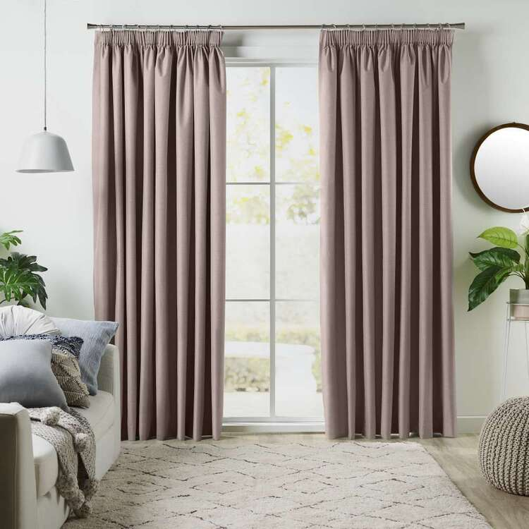KOO Linear Pencil Pleat Curtains