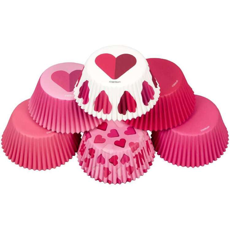 Wilton Hearts Baking Cups 150 Pack