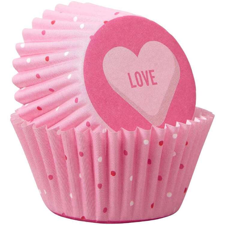 Wilton Hearts Mini Baking Cups 100 Pack