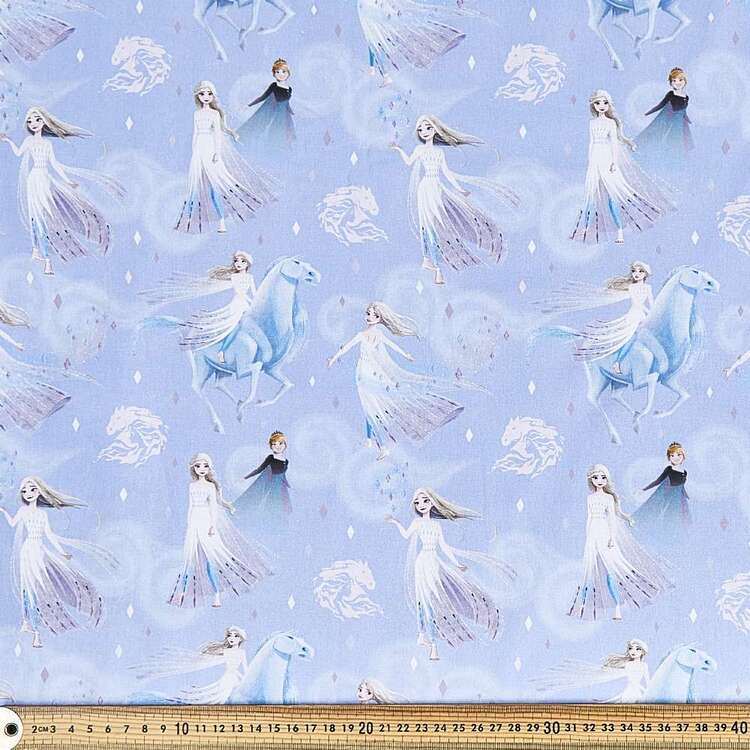 Frozen 2 Elsa & Anna Cotton Fabric