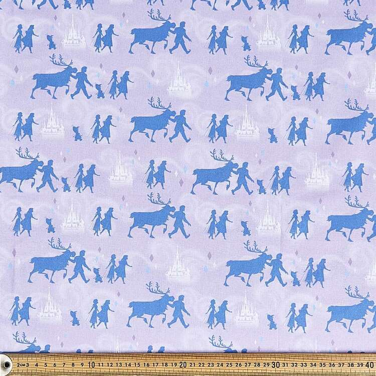 Frozen 2 Shadows Cotton Fabric