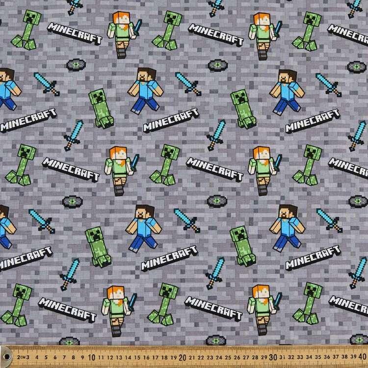 Minecraft Mobs 2 Cotton Fabric