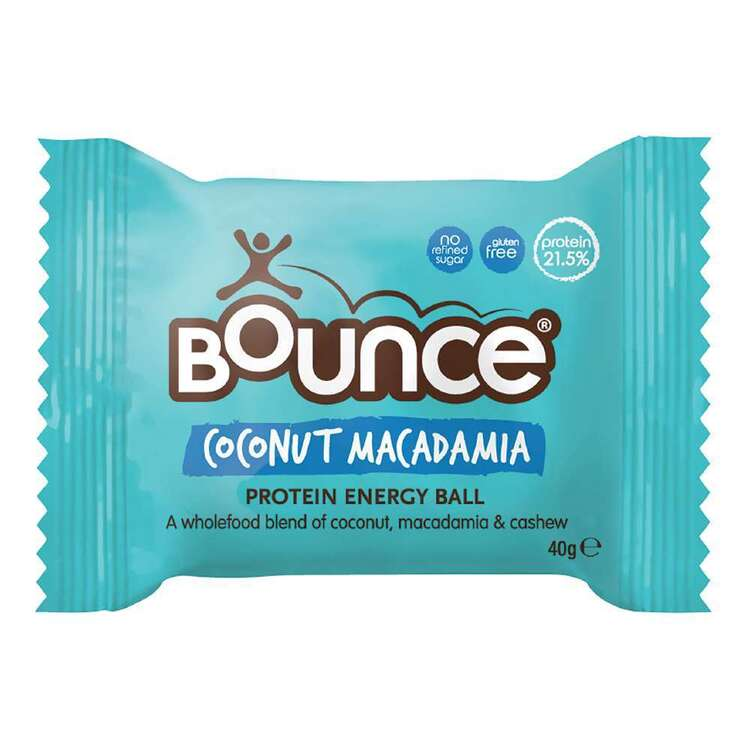 Bounce Foods Coconut & Macadamia Protein Energy Ball