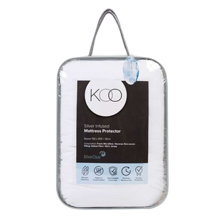 KOO Silver Infused Mattress Protector