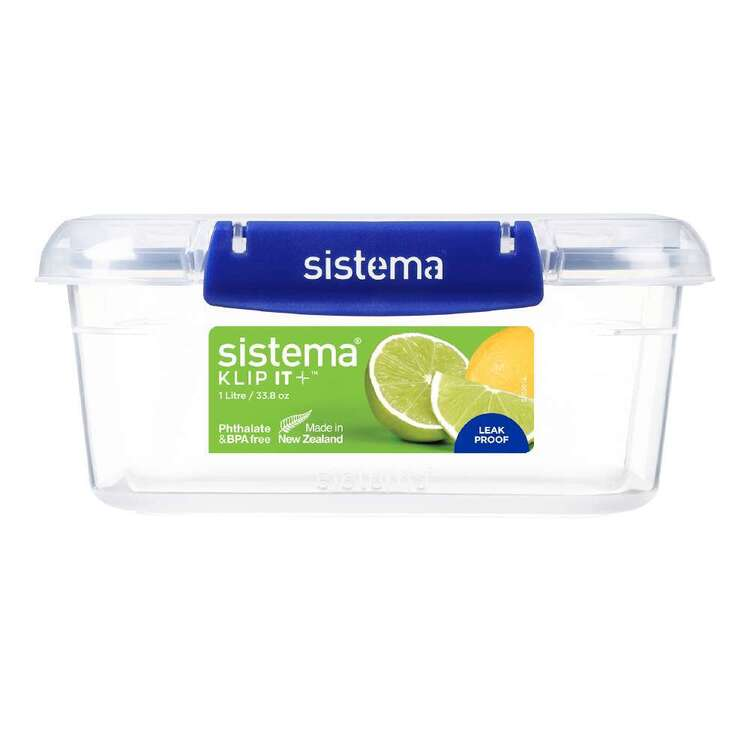 Sistema Klip It Plus 1L Rectangle Container