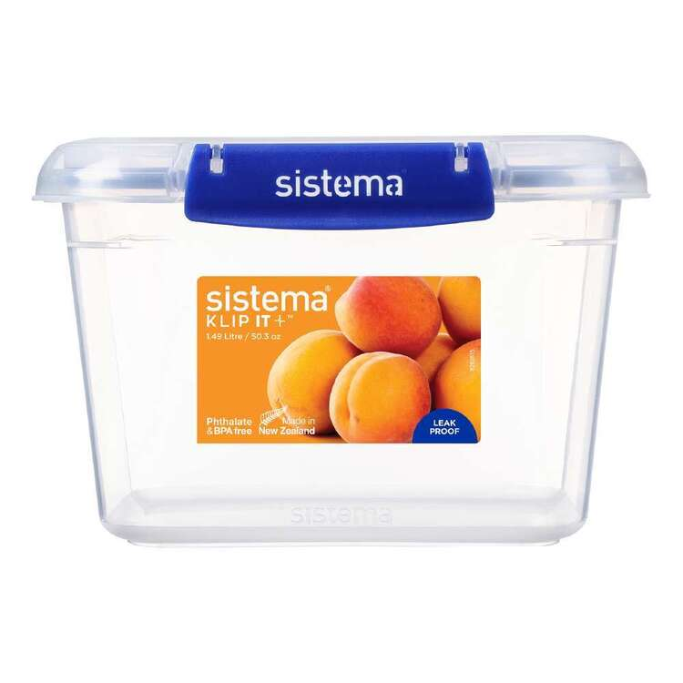Sistema Klip It Plus 1.49 L Rectangle Container