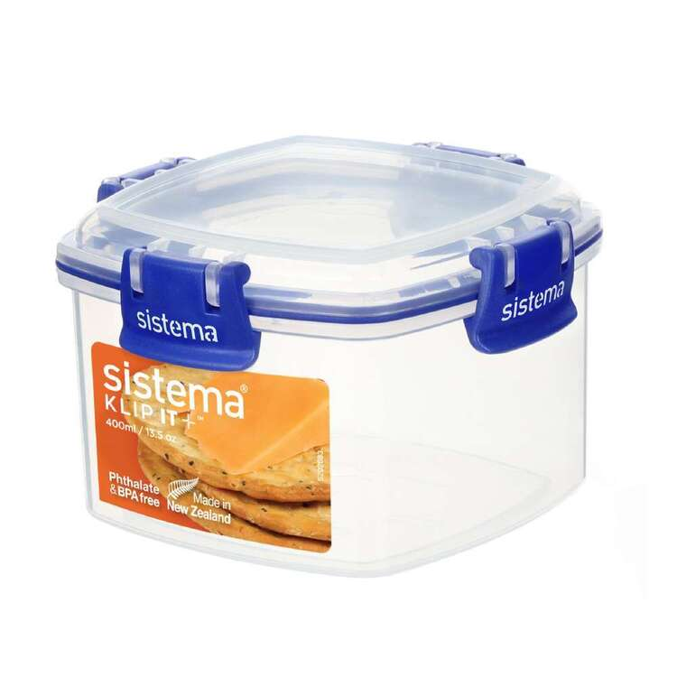 Sistema Klip It Plus 400 mL Cracker Container