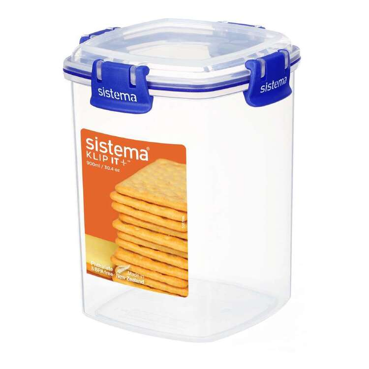 Sistema Klip It Plus 900 mL Cracker Container