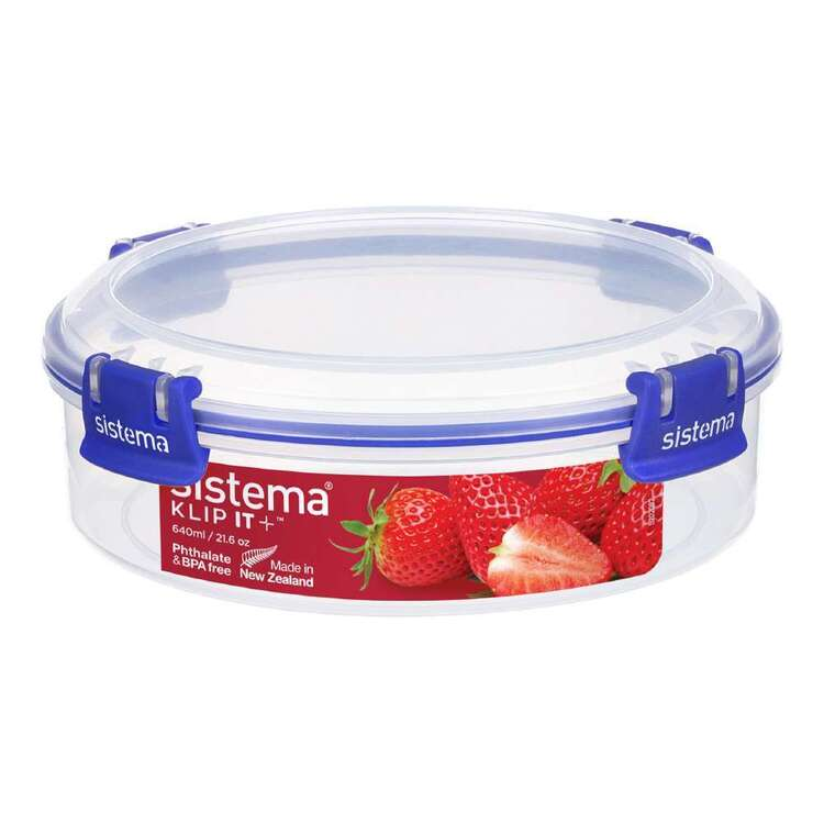 Sistema Klip It Plus 640 mL Round Container