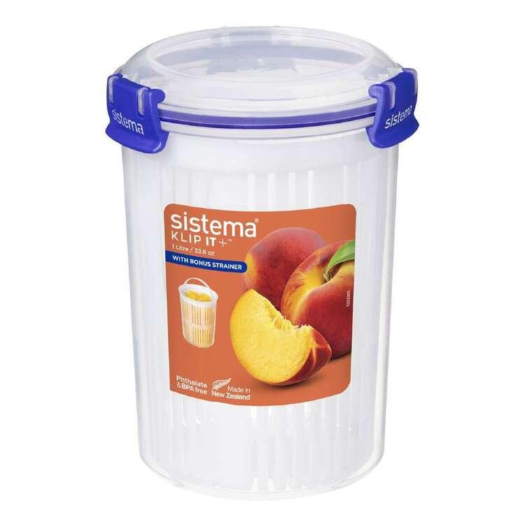 Sistema Klip It Plus 1 L Round Container