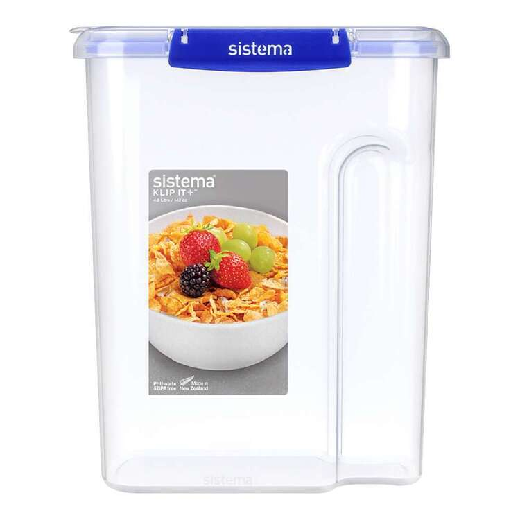 Sistema Klip It Plus 4.2L Cereal Container