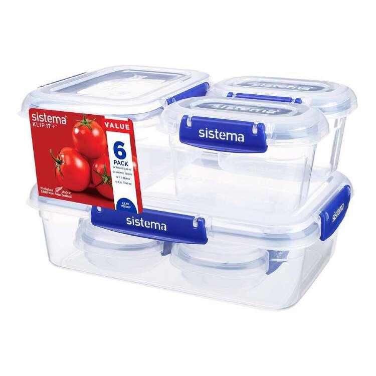 Sistema Starter Klip It 6 Pack Container Set