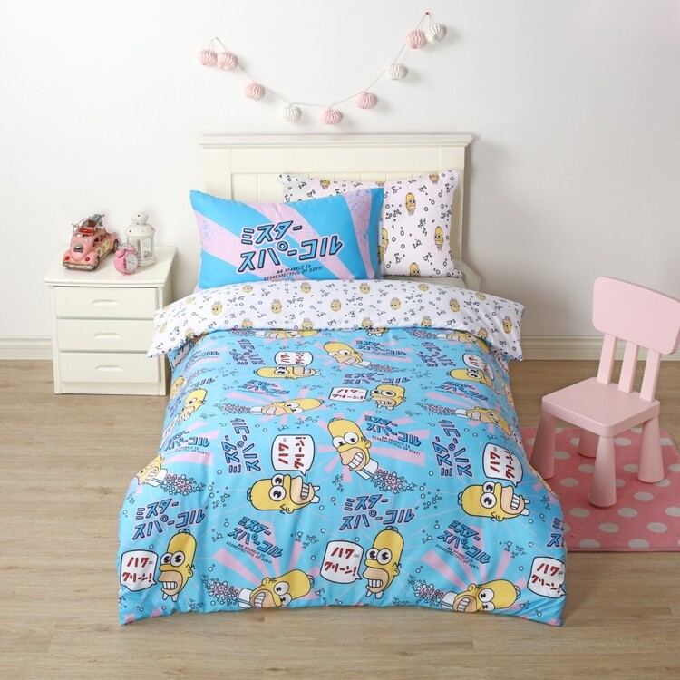 Simpsons Homer Quilt Cover Set