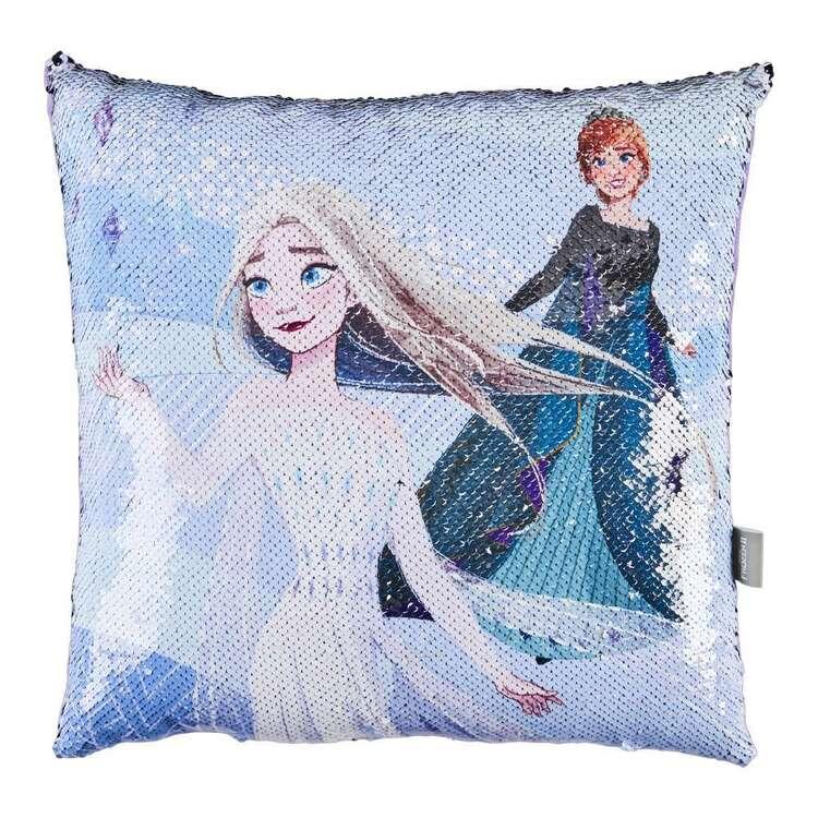 Frozen Spirit Sequin Cushion