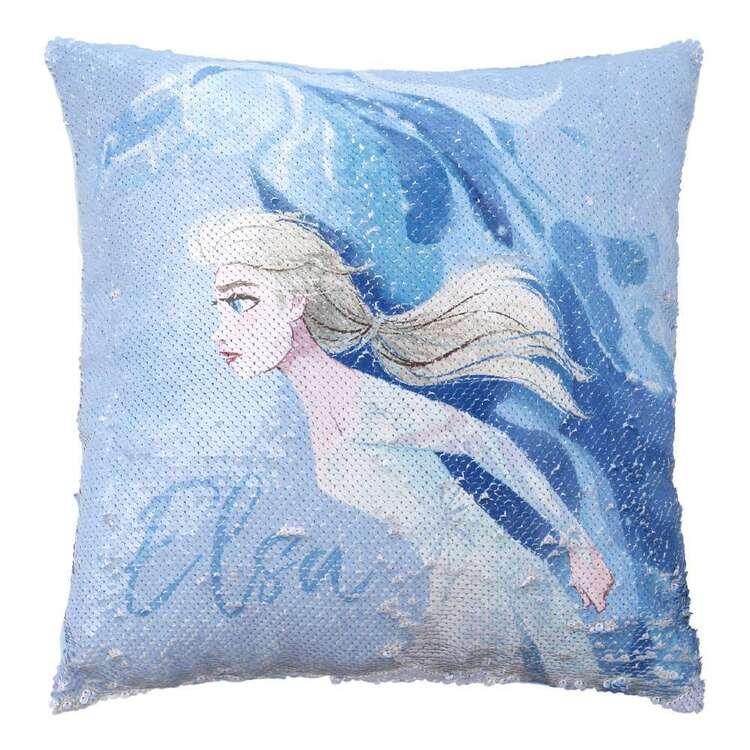Frozen Sparkle Horse Cushion