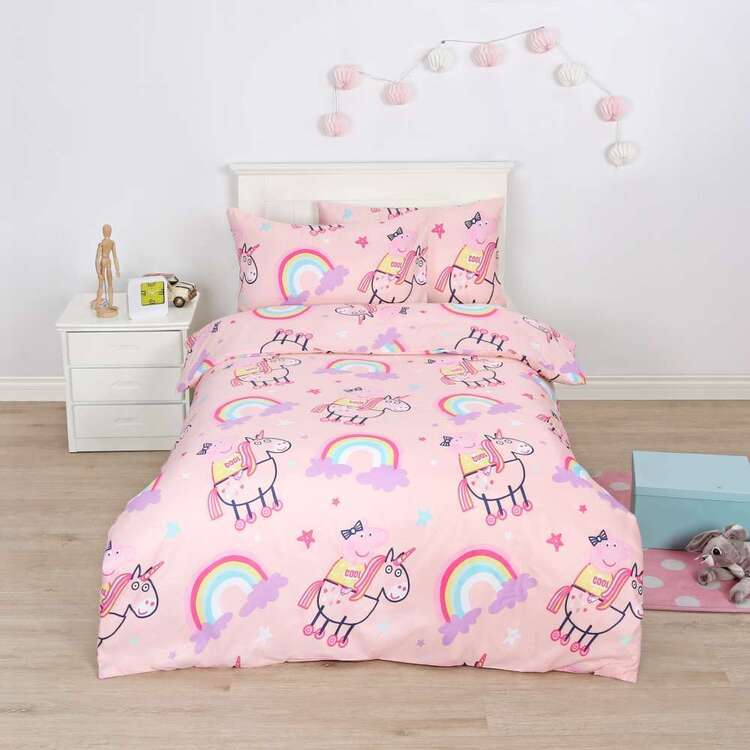 Peppa Pig Cool Quilt Cover Set