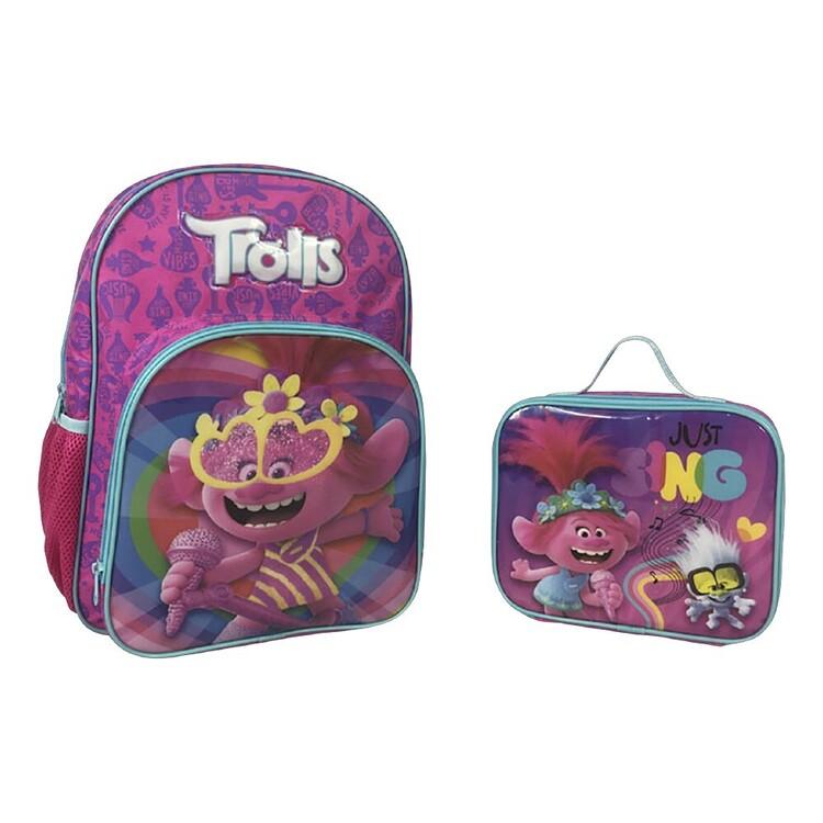 Trolls Back Pack & Cooler Bag