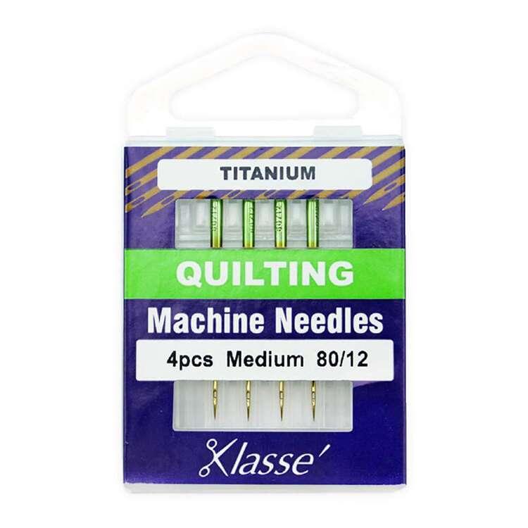 Klasse 80/12 Titanium Quilting Machine Needle