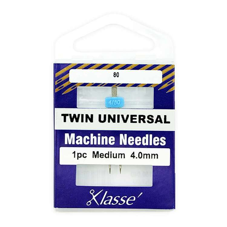 Klasse 80/4mm Twin Universal Machine Needle