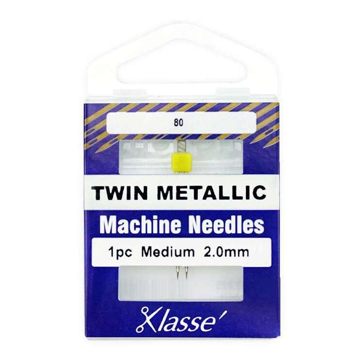 Klasse 80/2mm Twin-Met Machine Needle