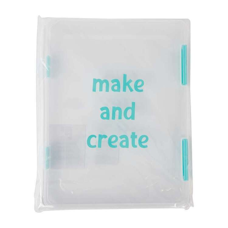 Crafters Choice Aqua A4 Make & Create File Box