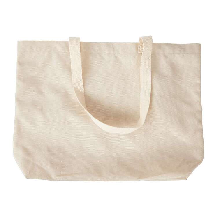 Plain Polyester Canvas Tote Bag
