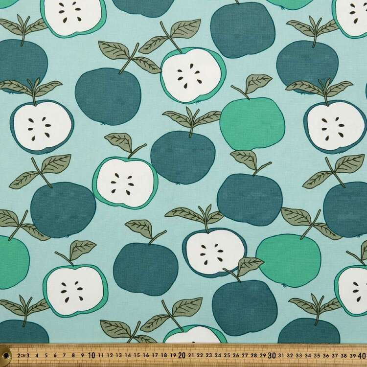 Apple Of My Eye Printed 112 cm Buzoku Duck Fabric