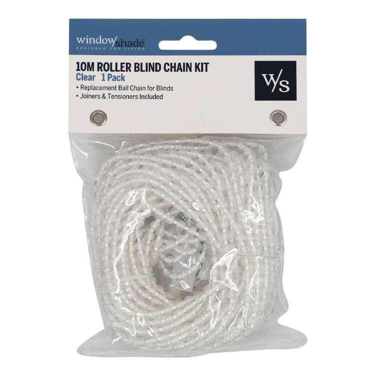 Windowshade 10m Chain Replacement Kit Clear