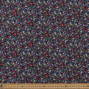 Mix N Match TC Strawberries Printed 112 cm Poly Cotton Fabric