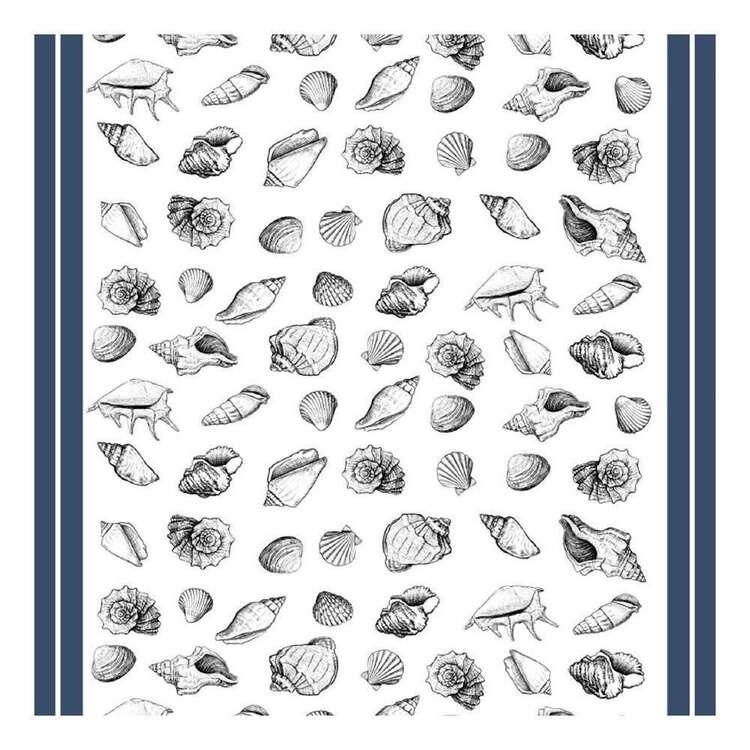 Ladelle Seashells Printed Tabletone