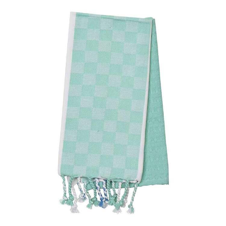 Kitchen By Ladelle Tassels 2 Pack Tea Towel