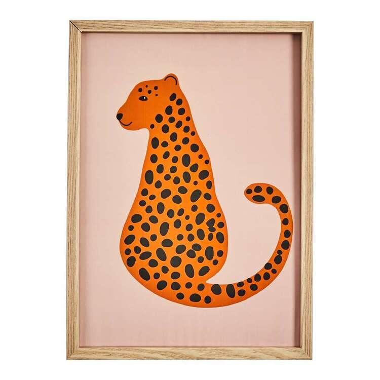 Cooper & Co Leopard Framed Print