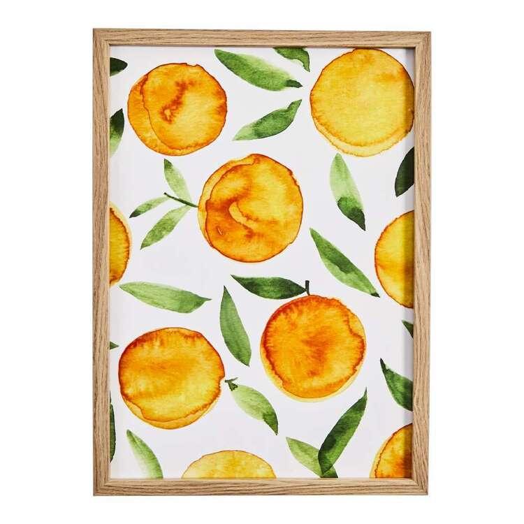 Cooper & Co Orange Framed Print