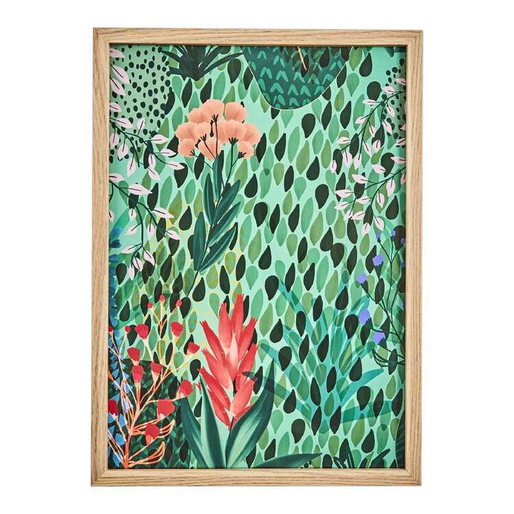 Cooper & Co Abstract Forest Framed Print