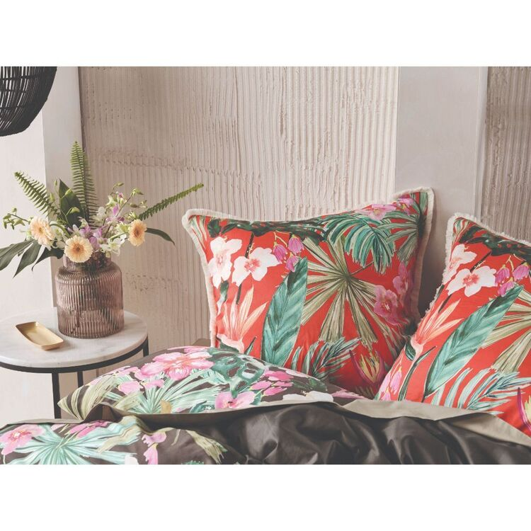 Linen House Tropical Getaway European Pillowcase