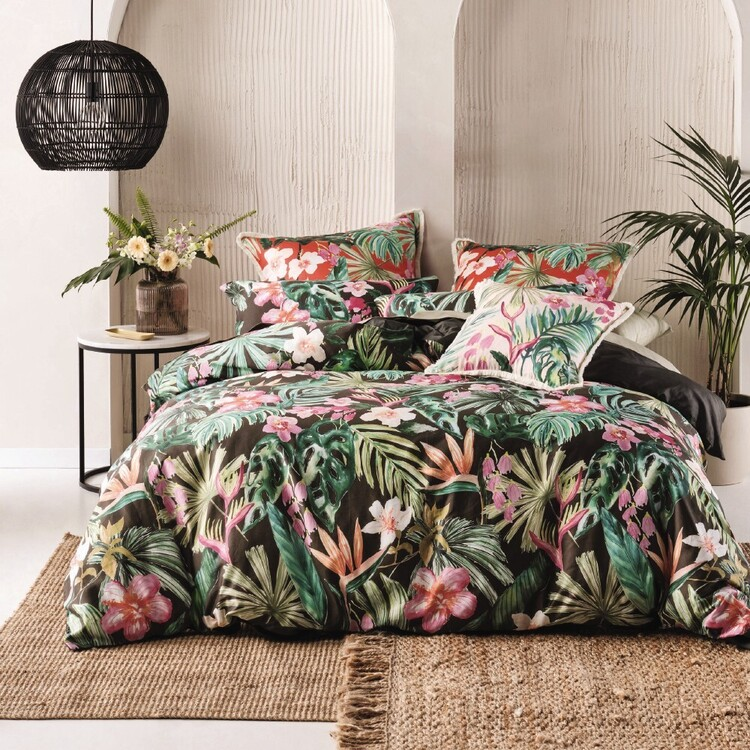 Linen House Tropical Getaway Quilt Cover Set