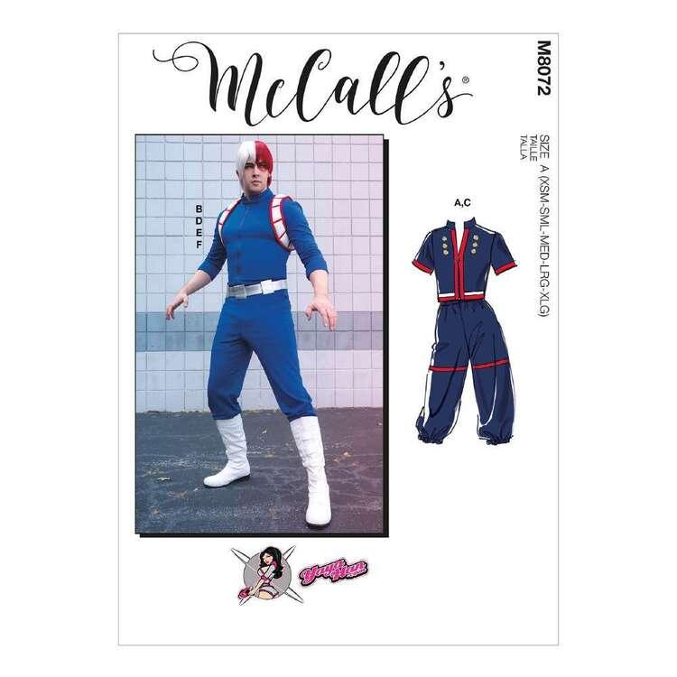 McCall's Pattern 8072 Unisex Costume