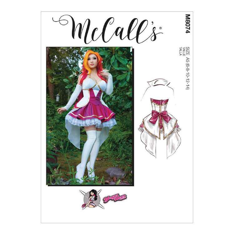 McCall's Pattern 8074 Misses' Costume