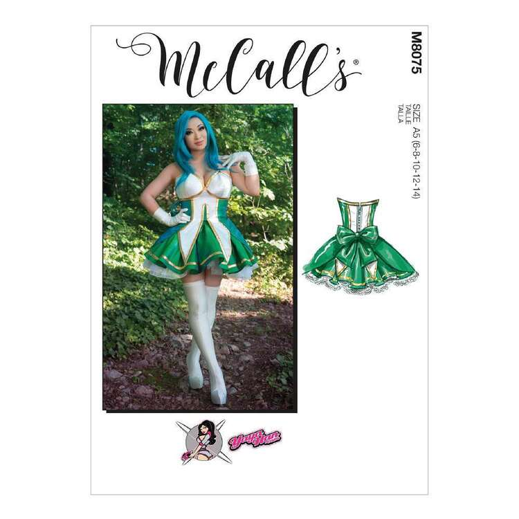 McCall's Pattern 8075 Misses' Costume