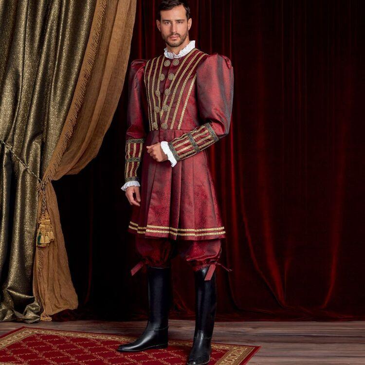 Simplicity Pattern 9095 Men's Historical Costume
