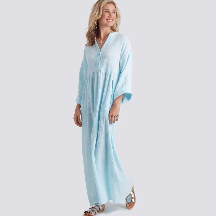 Simplicity Pattern 9102 Misses' Caftan & Dresses