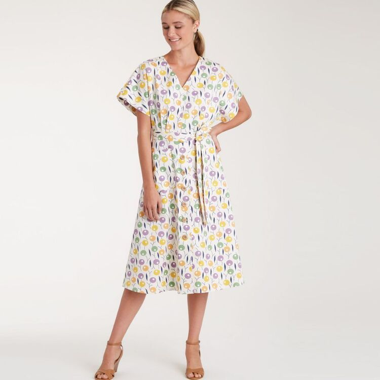 Simplicity Pattern 9103 Misses' Dresses In Two Lengths With Tiered Variation