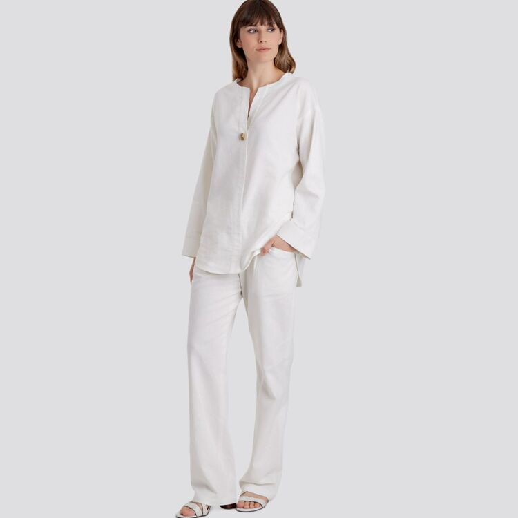 Simplicity Pattern 9113 Misses' Tunic, Top & Pull On Pants