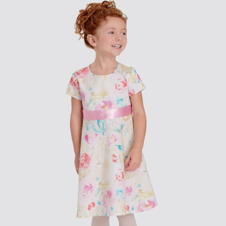Simplicity Pattern 9119 Children's Dresses