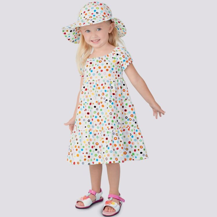 Simplicity Pattern 9126 Toddlers' Dresses